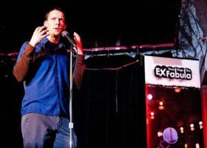 Storyteller Mathew Konkel from Green StorySlam