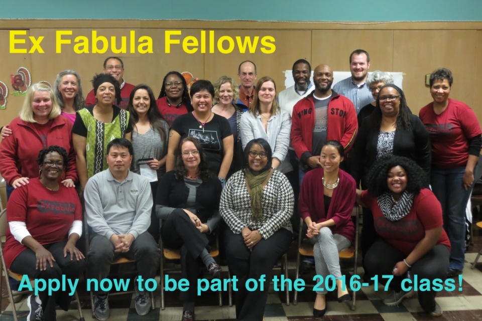 Group photo showing the 2015-16 Fellows, a diverse group of Milwaukee adults