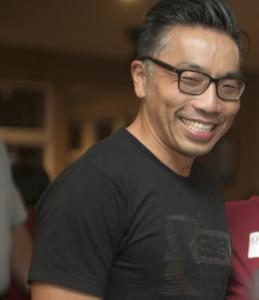 David Lee smiling