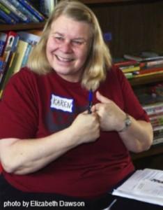 Karen Kolberg, Ex Fabula workshop teacher