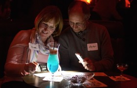 Cocktails and trivia