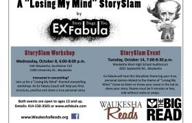 Postcard from Waukesha Reads event