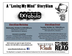Postcard from Waukesha Reads event