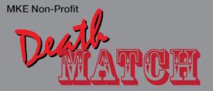 Logo MKE Non-Profit Death Match: a monthly trivia challenge