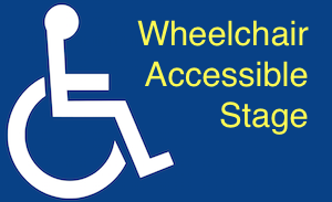 Wheelchair Accessible Stage logo
