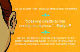 """Speaking directly to one another is priceless."" Evelyn P."