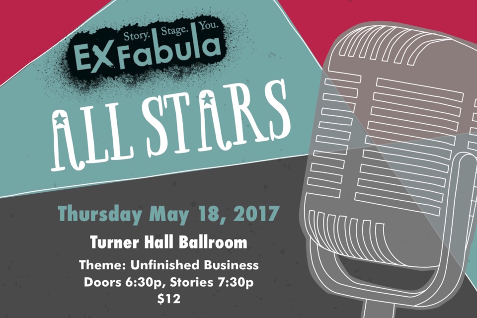poster for Ex Fabula ALL STARS on Thursday May 18