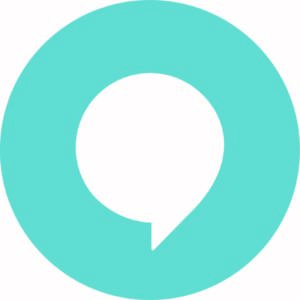 circle with a chat bubble