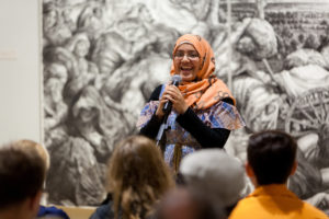 Refugee StorySlam Storyteller