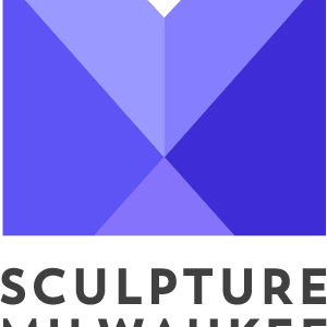 Purple sculpture milwaukee logo