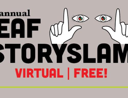2nd Annual Deaf StorySlam