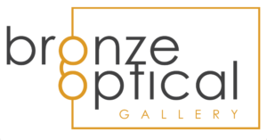 Bronze Optical Gallery- eye glasses icon